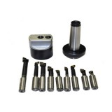 "9 PCS Boring Bar Set With 2"" Boring Head and Boring Head Shank - MILLING CUTTER 