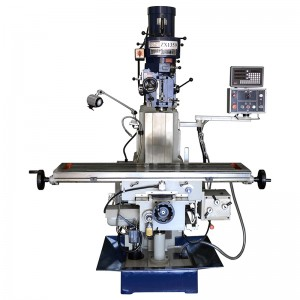 "59"" x 12 5/8"" Milling Machine  With X,Y Power Feed & 3 Axis DRO 