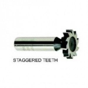 12-072-102 ARBOR TYPE HSS. WOODRUFF KEYSEAT CUTTER,STAGGERED TOOTH 817