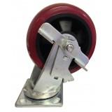 Swivel Caster Wheels with Locking Mechanism