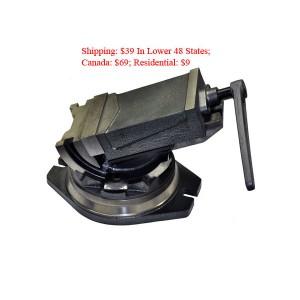 "5"" Tilting / Swiveling Milling Vise | QHK-5"