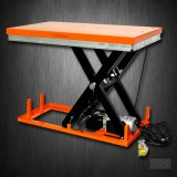 Stationary Powered Hydraulic Lift Table   2200 lb   ET1001