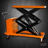 Hydraulic Hand Electric Table Truck | 2200 lb | ETF100SD