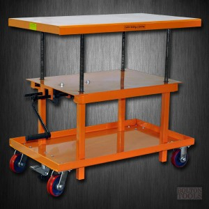Mechanical Hand-Crank Hydraulic Lift Table | 2200 lb | MT3036