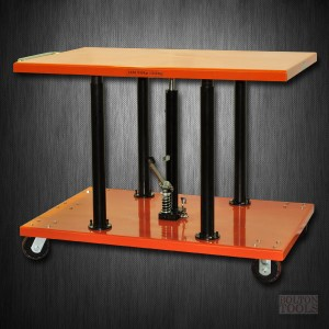 Center Post Hydraulic Lift Table | 2200 lb | PT-20-3248