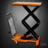 Hydraulic Double Scissor Lift Table Cart | 220 lb | TF10