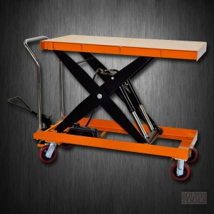 Hydraulic Scissor Lift Table Cart | 2200 lb | TF100D
