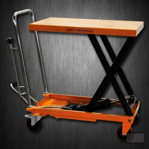 Hydraulic Scissor Lift Table Cart | 660 lb | TF30