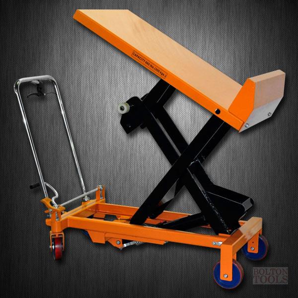 Hydraulic Scissor Lift and Tilt Table Cart | 660 lb | TF30F
