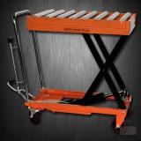 Hydraulic Scissor Roller Top Lift Table Cart | 660 lb | TF30R