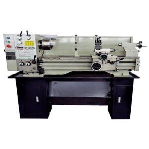 "13"" x 37"" Gear-Head, Camlock Spindle Gap Bed Lathe With Stand - Metal Lathes 