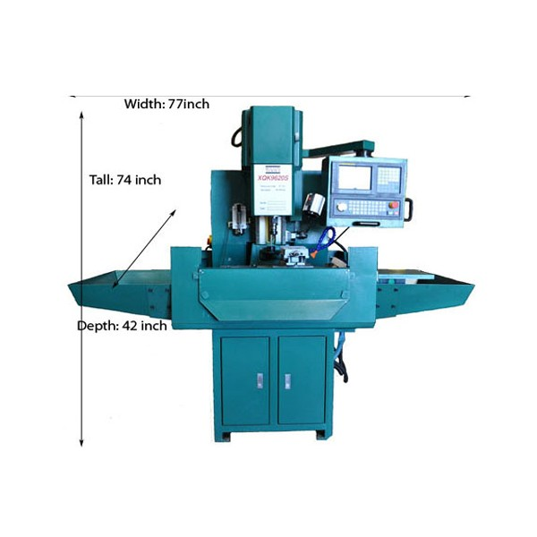 INDUSTRIAL GRADE 3 AXIS CNC MILLING MACHINES W 4TH AXIS