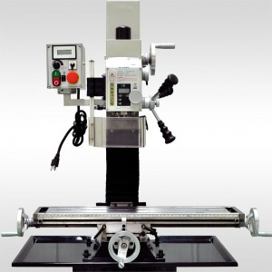 """27 1/2"""" x 7"""" VARIABLE SPEED MILL DRILL - Milling Machines   BF20VL"""