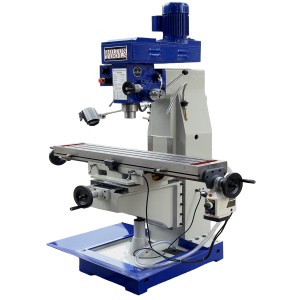 """10"""" x 48"""" VERTICAL MILLS WITH POWER FEED - Milling Machines 