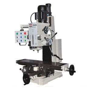 "9 1/2"" x 40"" Gear Drive Milling Machine With X,Y,Z Power Feeder  