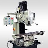 "9 1/2"" x 40"" Gear Drive Milling Machine W.3 Axis  Power Feeder &  DRO 