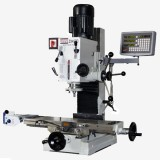 "9 1/2"" x 32"" Gear Drive Milling Machine W. X Axis Power Feeder & 3 Axis DRO 