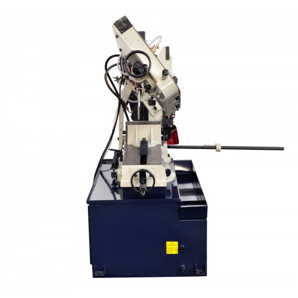 10 Inch x 18 Inch Metal Cutting Band Saw With Swiveling Base