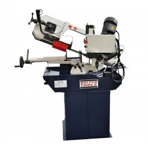 8 5/8 Inch x 10 Inch Mitering Horizontal Bandsaw With Swivel Mast   | BS-280G