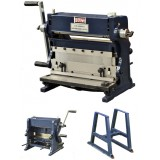 "12"" COMBINATION 3 IN 1 SHEET METAL MACHINE - BRAKES AND PRESSES 