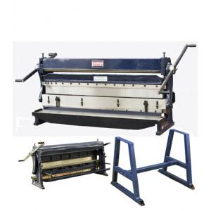 "52"" Heavy Duty Combination 3 in 1 Sheet Metal Brake andPress  Machine |  SBR5216"